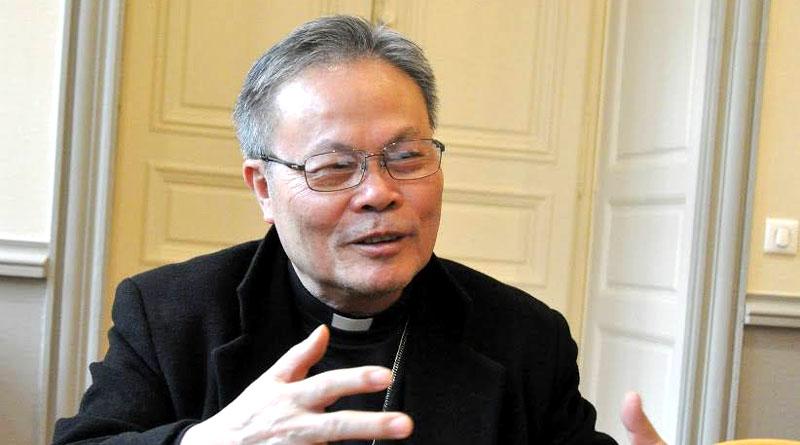 Đức Cha Linh trả lời phỏng vấn sau cuộc họp tại Vatican